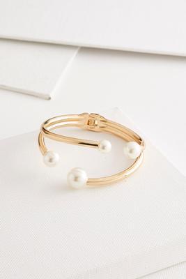 mod pearl hinge bracelet