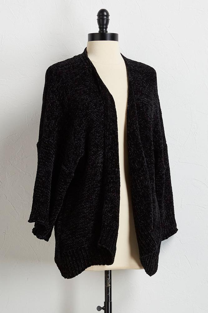 Versona | cozy chenille cardigan sweater