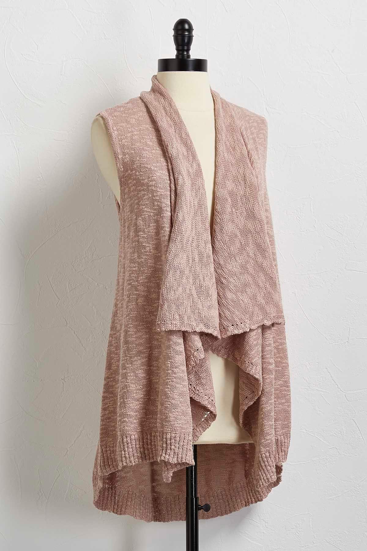 Versona | shawl collar sweater vest