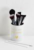 Pretty Makeup Brush Canister