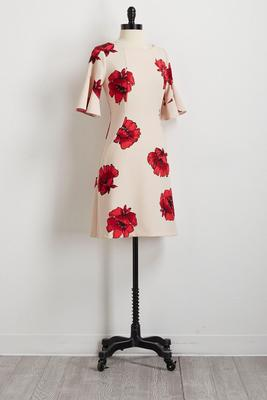 bright bloom shift dress