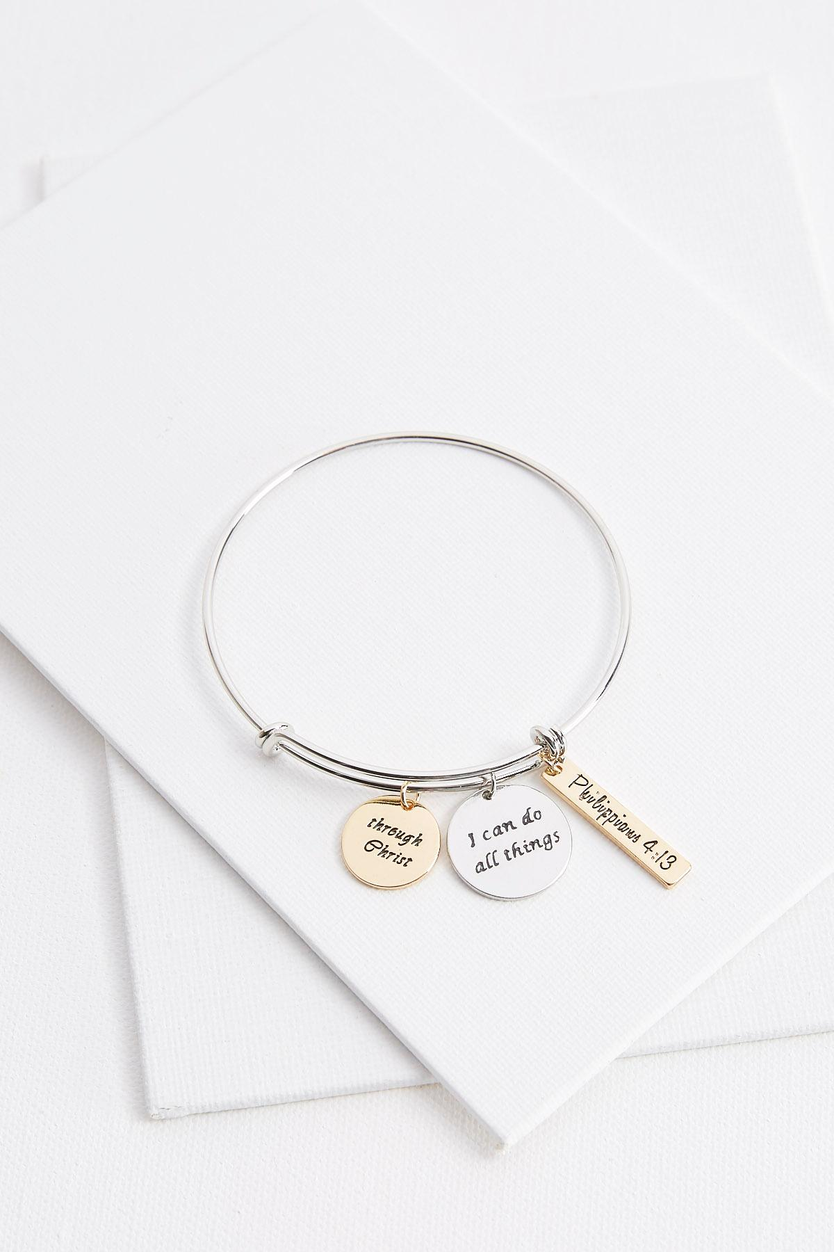 I Can Do All Things Charm Bracelet
