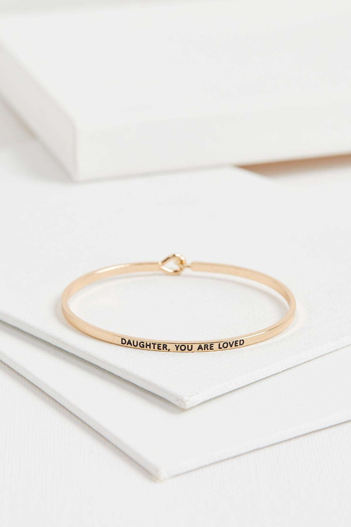 Daughter You Are Loved Bangle