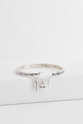 inspirational stretch bracelet