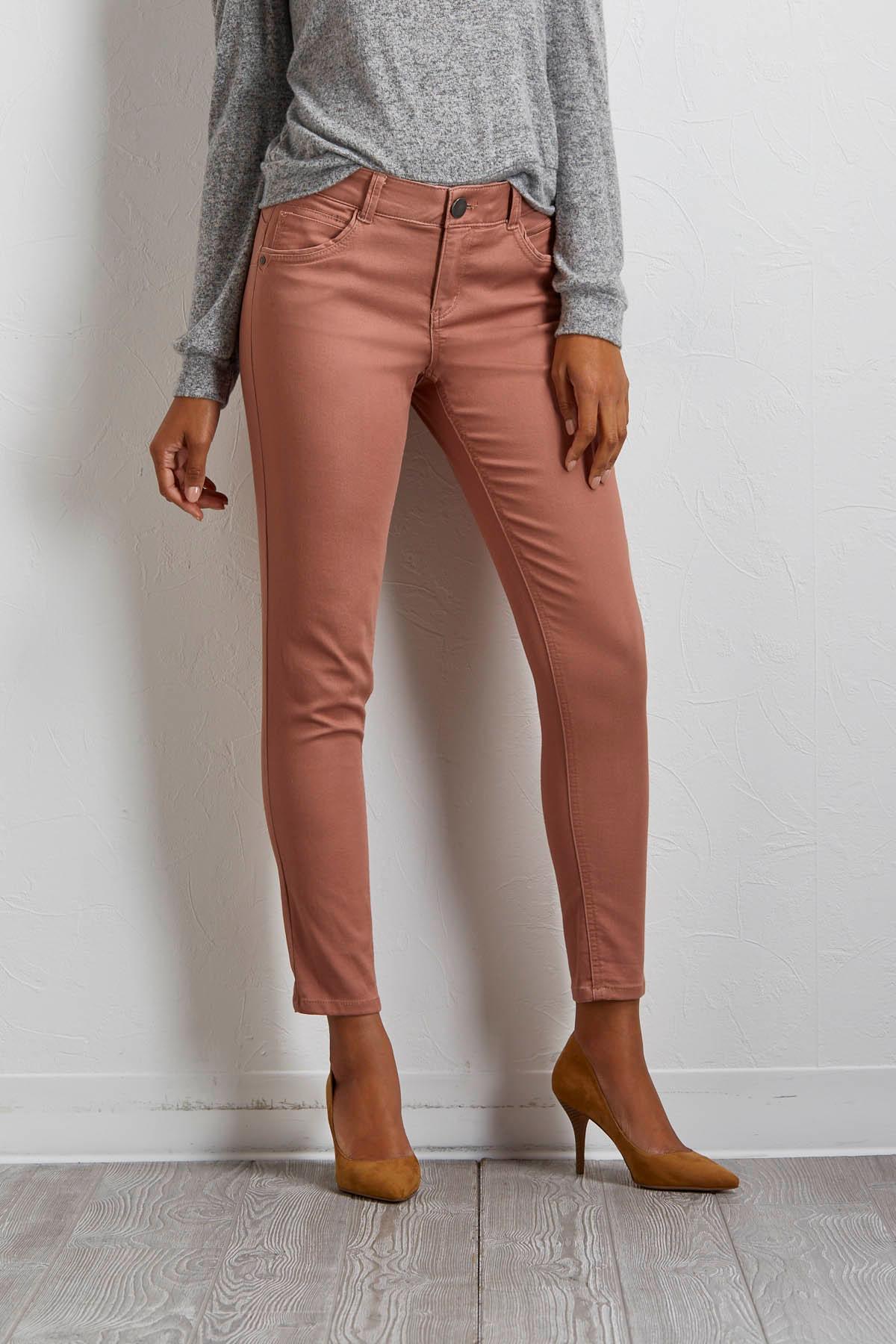 Shape Enhancing Skinny Pants