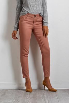 shape enhancing skinny pants