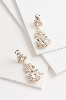 pave chandelier earrings s