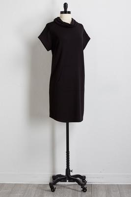 mesh trim athleisure dress
