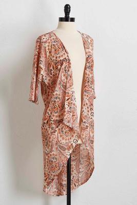 moroccan paisley kimono