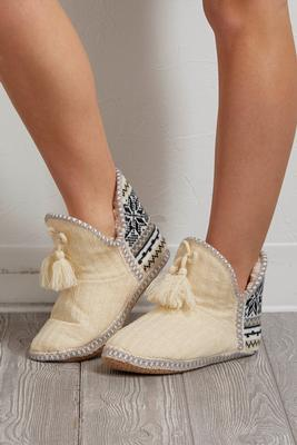 nordic slipper booties