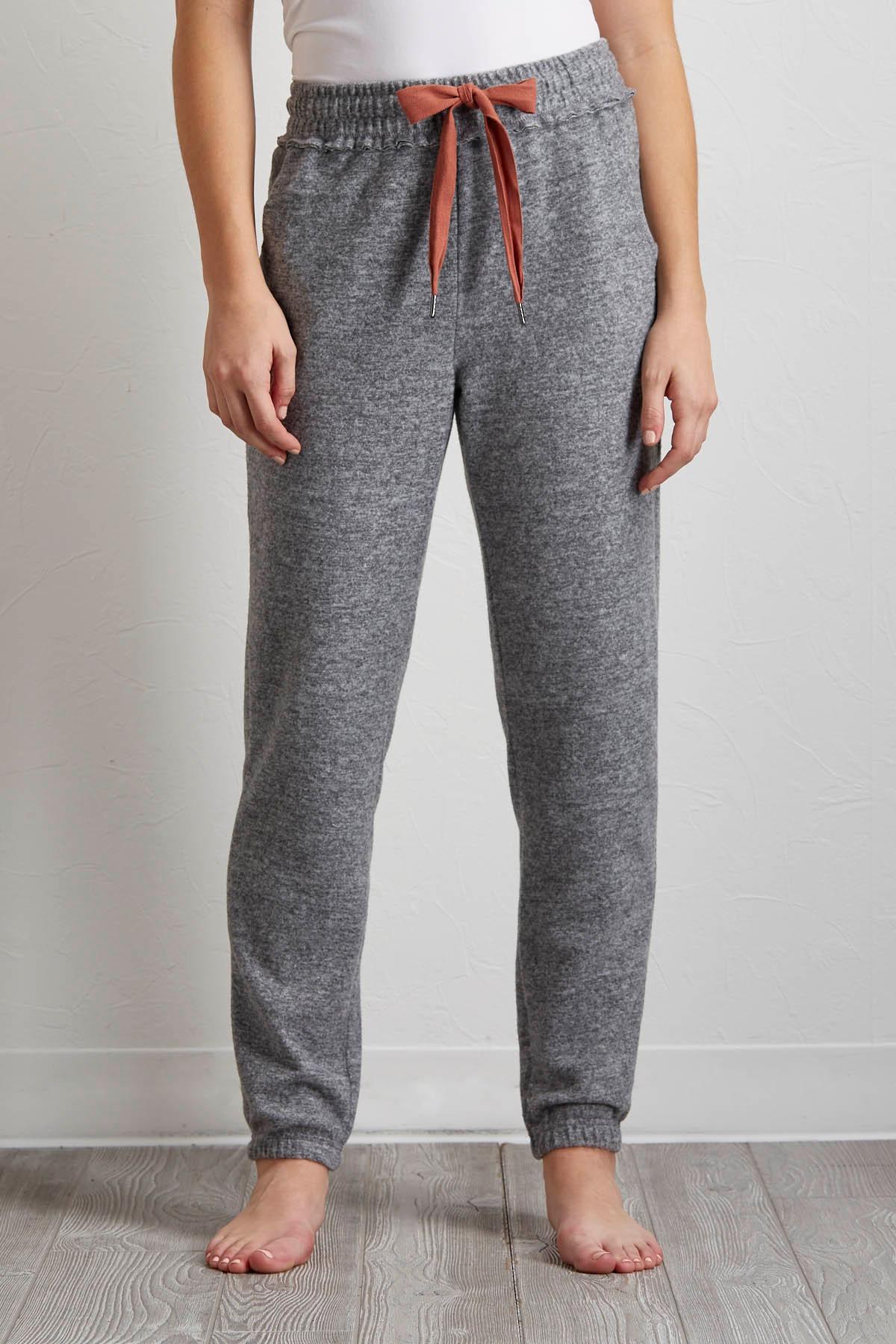 Brushed Hacci Jogger Pants