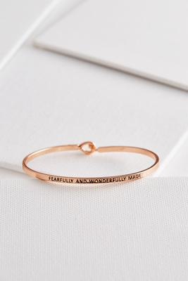 fearfully and wonderfully made bangle