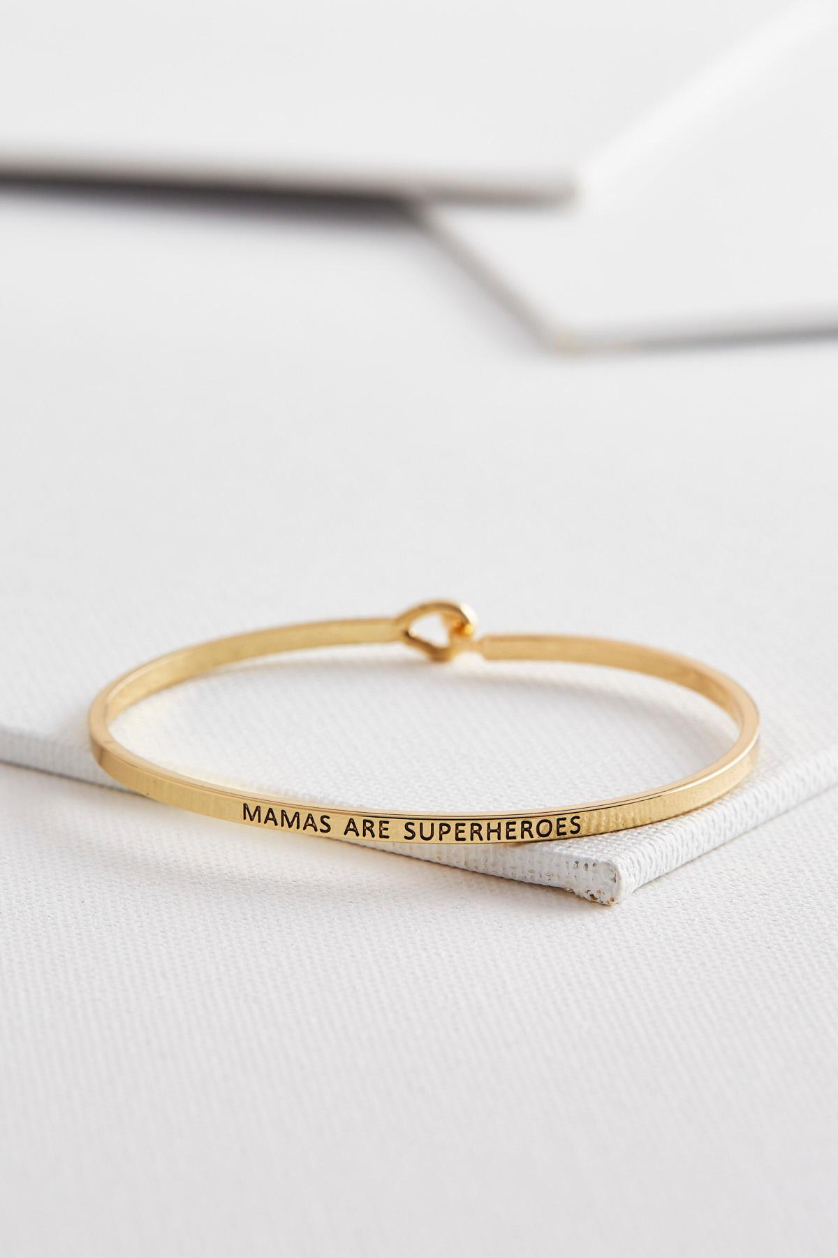 Mamas Are Superheroes Bangle