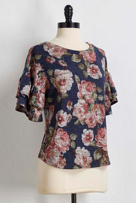 blooms and tiers hacci top