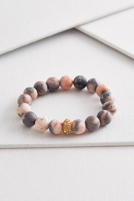 matte marbled stretch bracelet