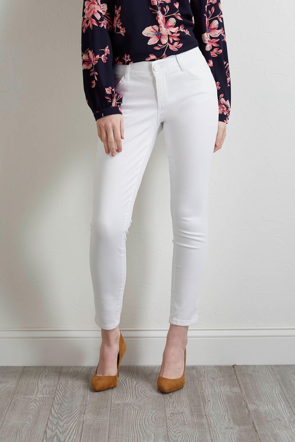 Optic Skinny Woven Pants