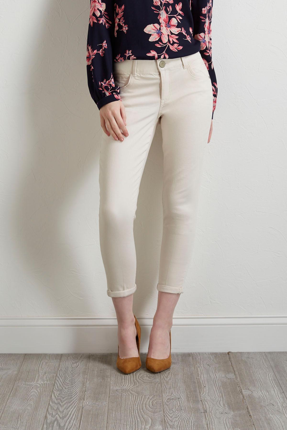 Ivory Breeze Skimmer Pants
