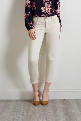 ivory breeze skimmer pants