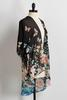 Butterfly Floral High- Low Kimono
