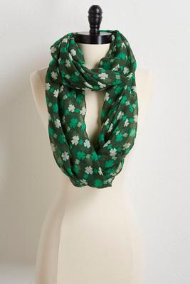 shamrock infinity scarf