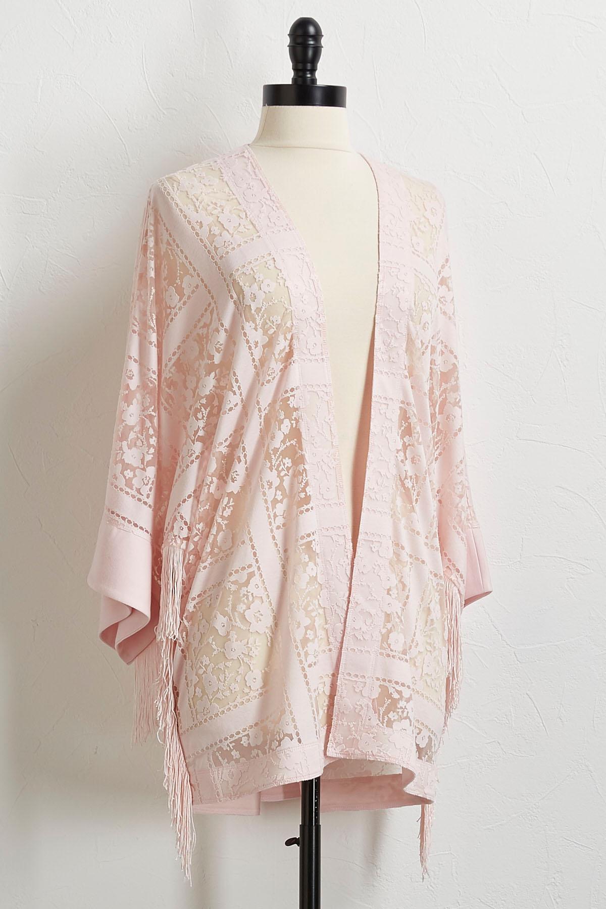 Burnout Mesh Kimono