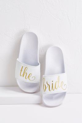 the bride slides