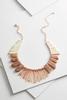 Shaky Semi- Precious Bib Necklace