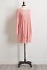 Rose Mesh Crochet Shift Dress
