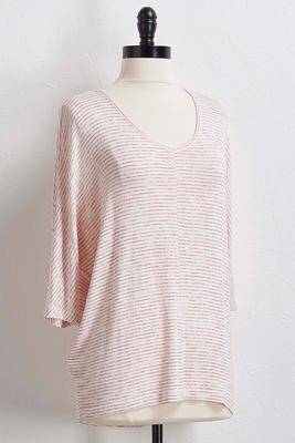 striped hacci tunic
