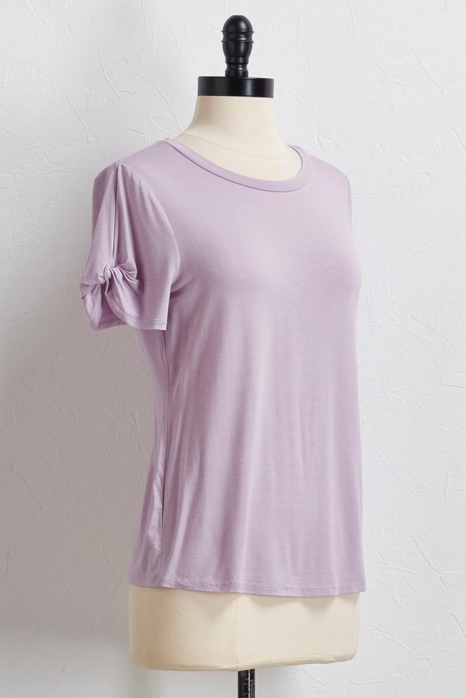 Twist Sleeve Tee