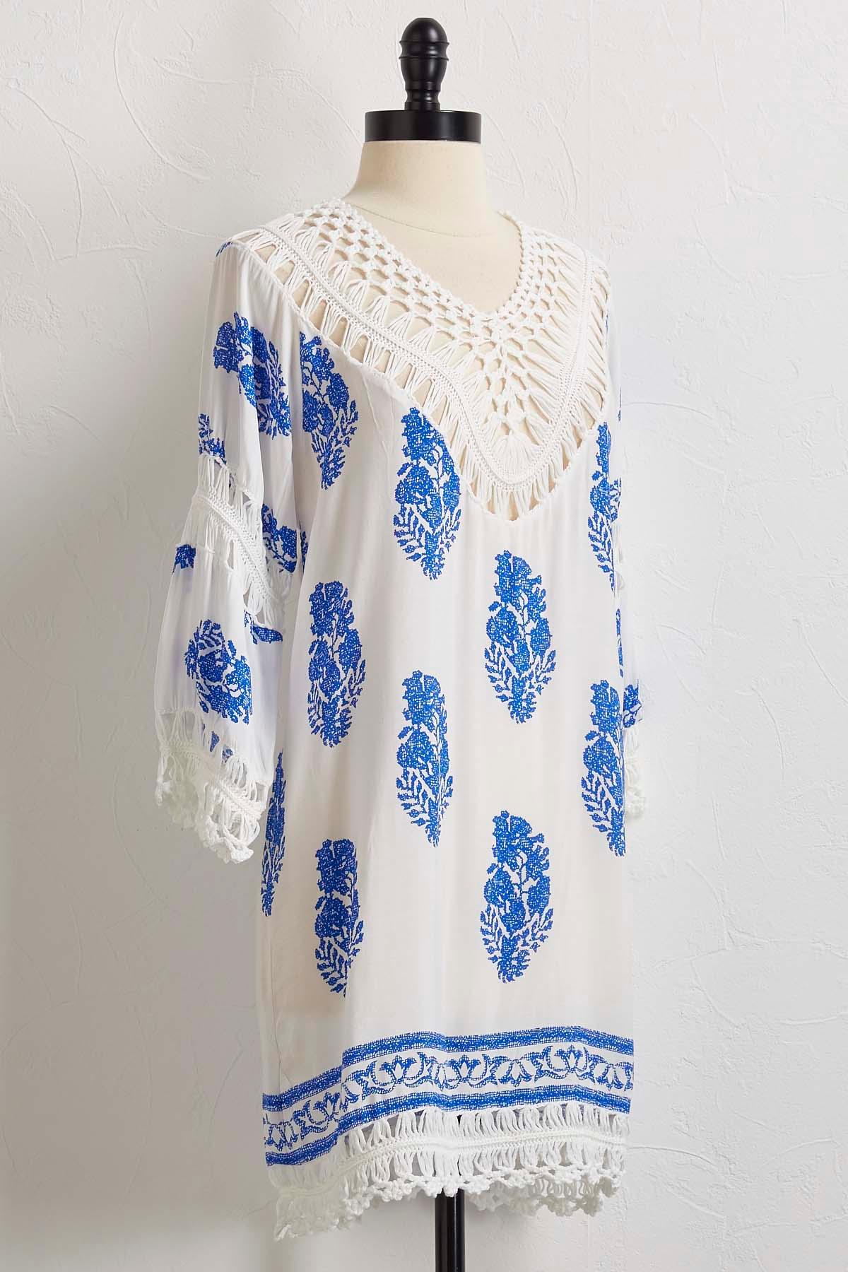 Breezy Crochet Cover- Up