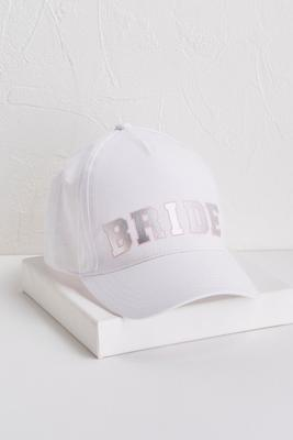 bride baseball hat s
