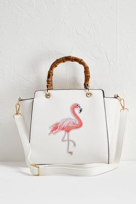 flamingo mini handbag