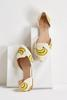 Banana Canvas Flats