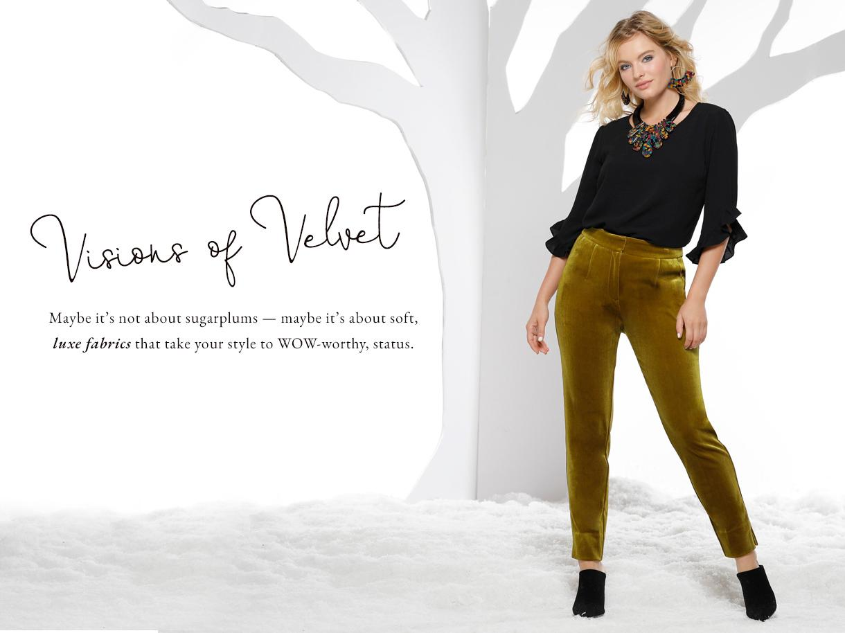 Visions of Velvet collection