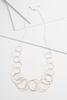 Mod Circle Link Necklace