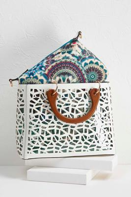 laser cut bag in bag set