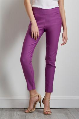 brilliant pull-on ankle pants