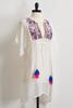 Pastel Embroidered Cover- Up