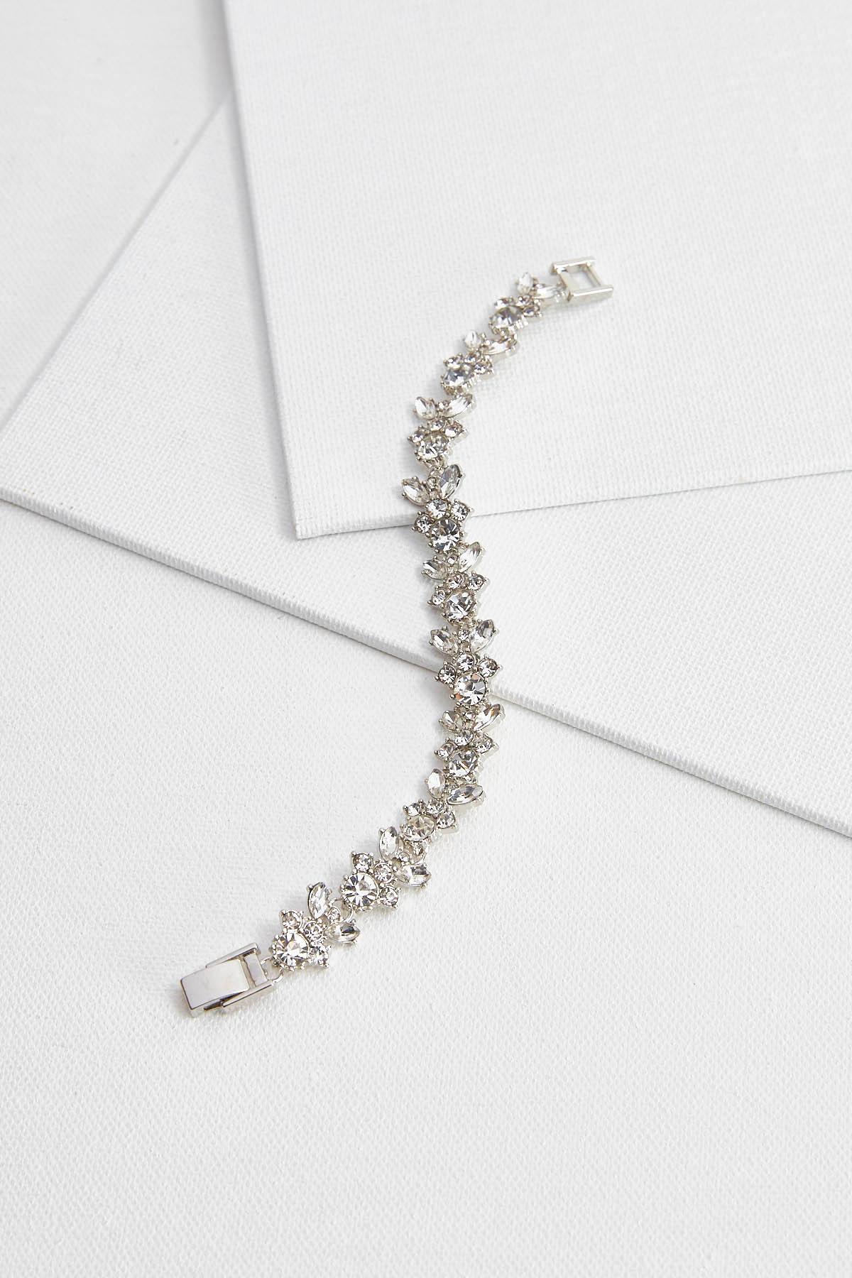 Rhinestone Link Bracelet