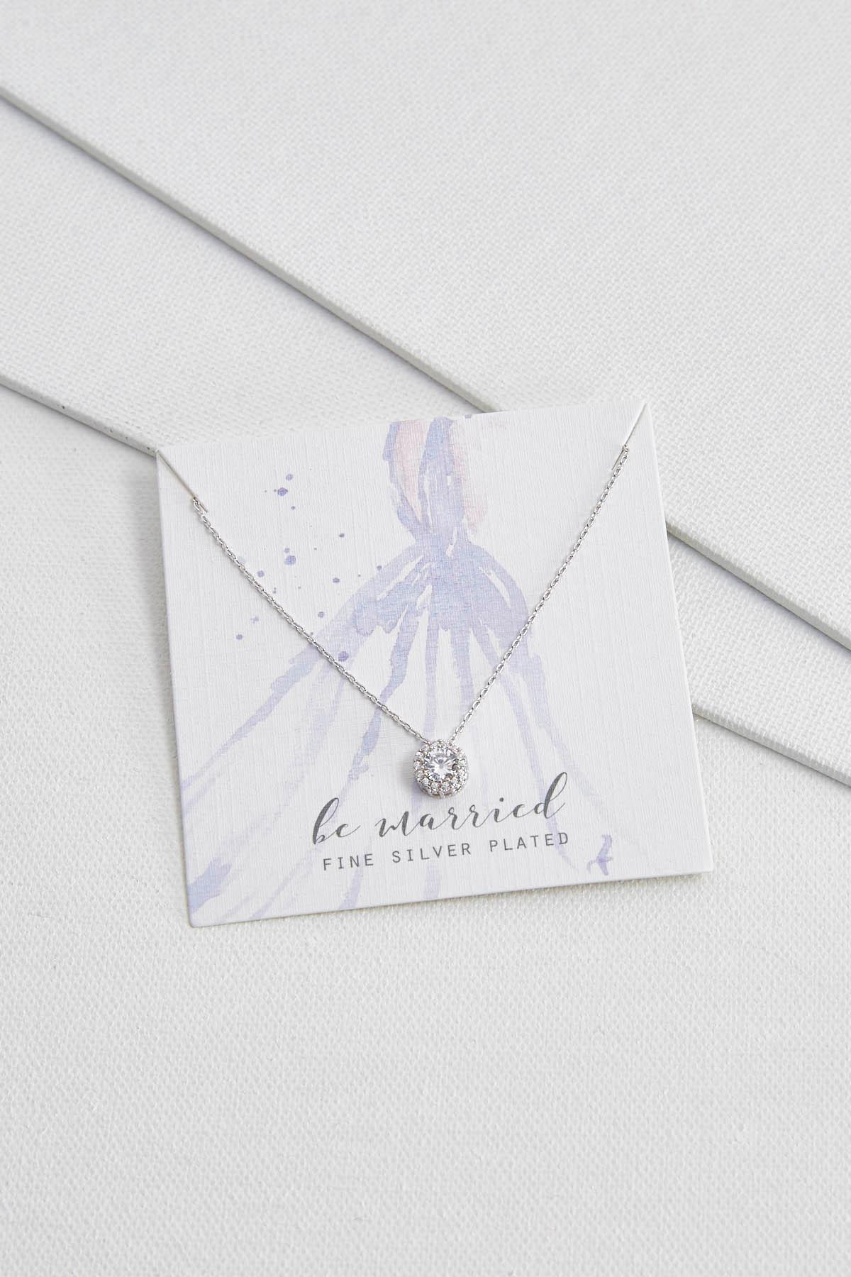 Be Married Pendant Necklace