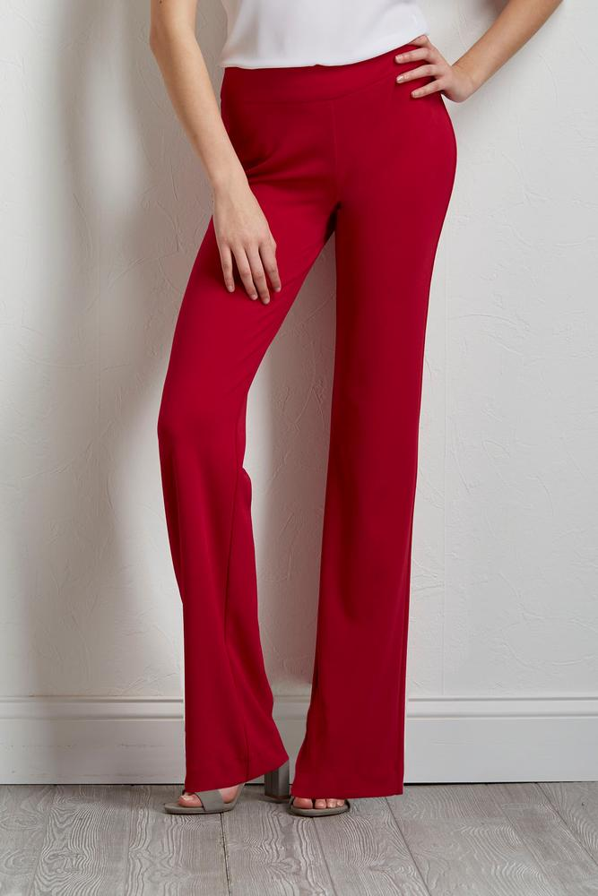Pull- On Stretch Trousers