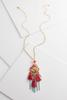 Mixed Tassel Pendant Necklace