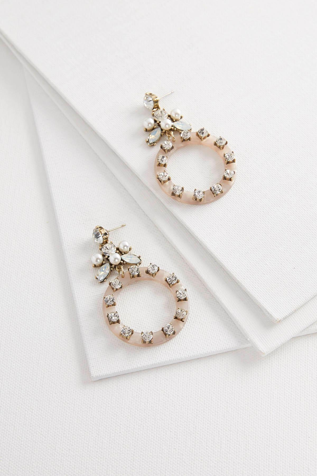 earrings catbird pearl cluster pearls