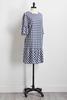 Gingham Drop Waist Dress