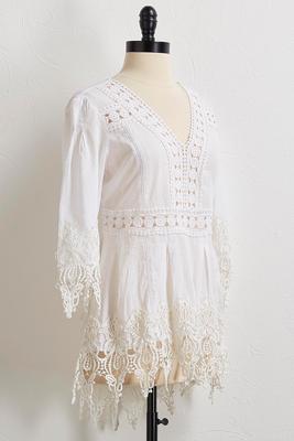 Crochet High-Low Top