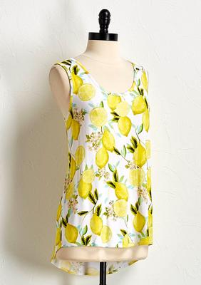 lemon high-low tank