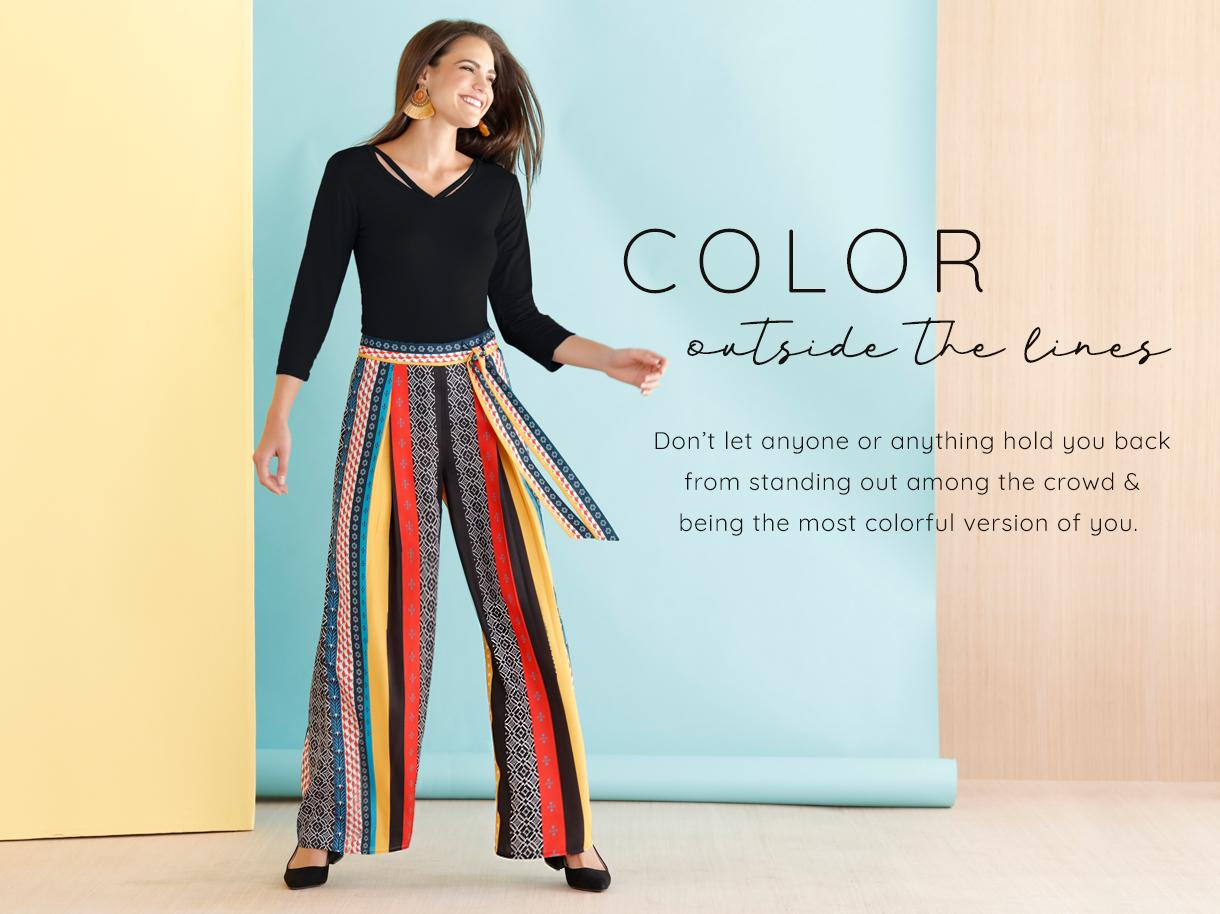 Color Outside the Lines collection