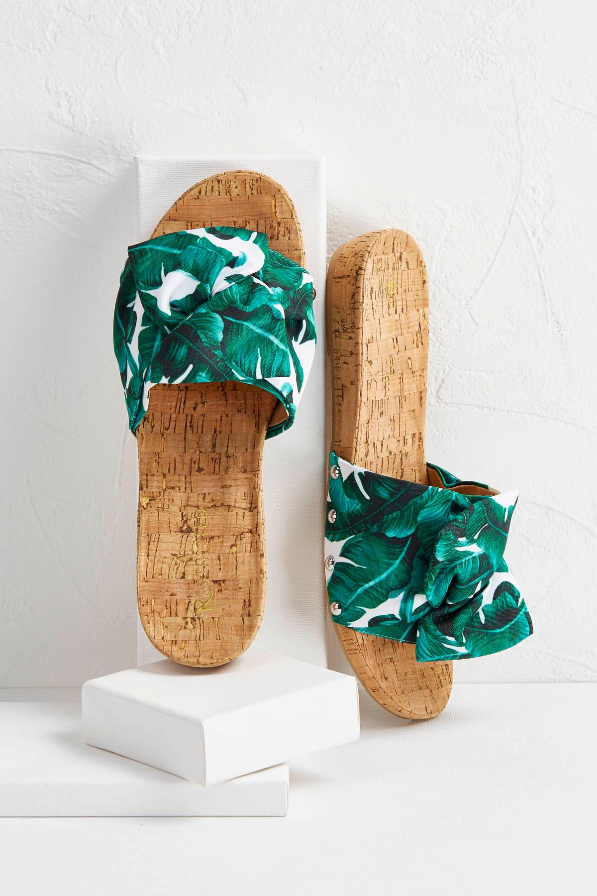 Summer Bow Cork Slides