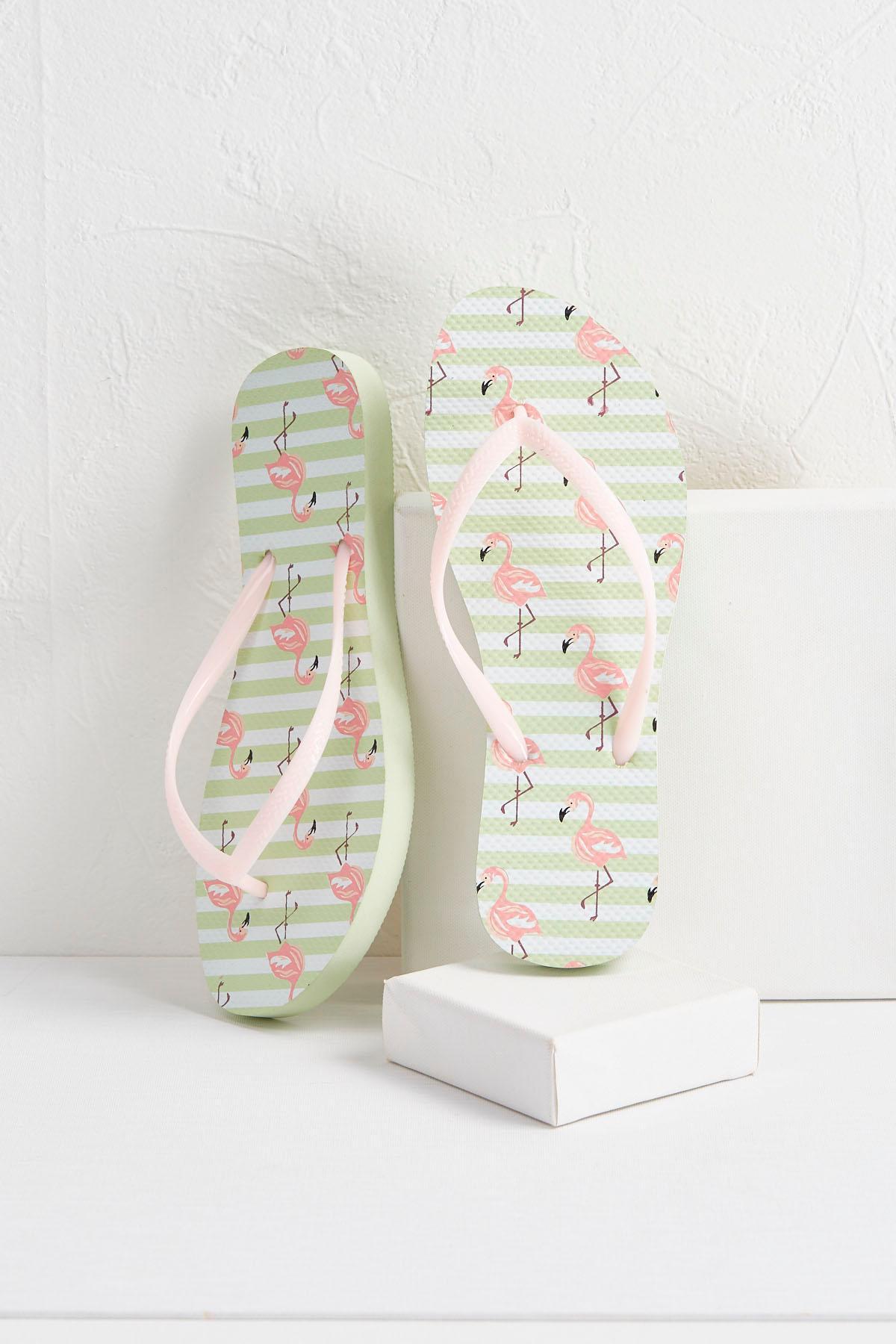 Flamingo Flip- Flops